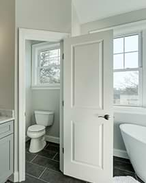 Private Toilet in Bathroom