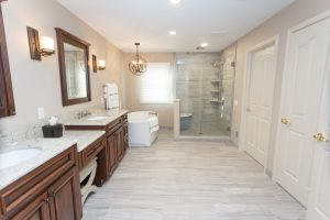 Long-View-of-Bathroom-With-Shower-and-Tub-at-the-End