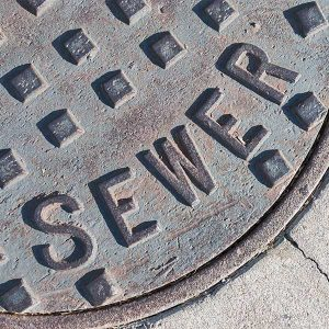 Main Sewer Access Cover