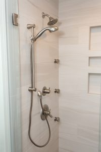 Showerhead-and-faucet