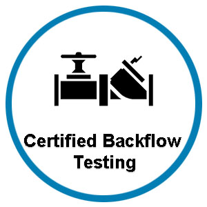 Backflow Prevention Urinal and Toilet Clogs Icon
